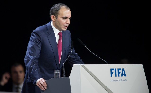 There is a third candidate for President of FIFA