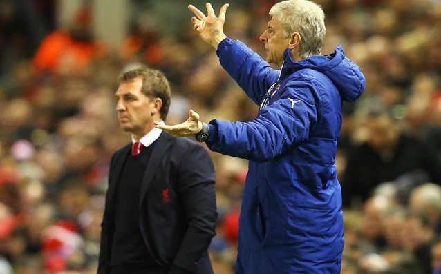 Wenger's sad because of the dismissal of Rodgers