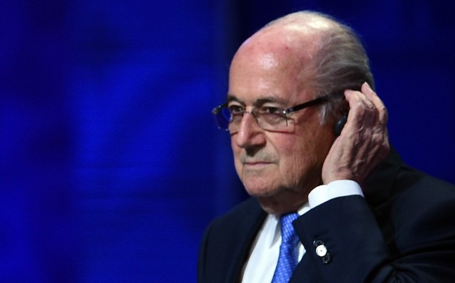 Blatter was removed from office for 90 days