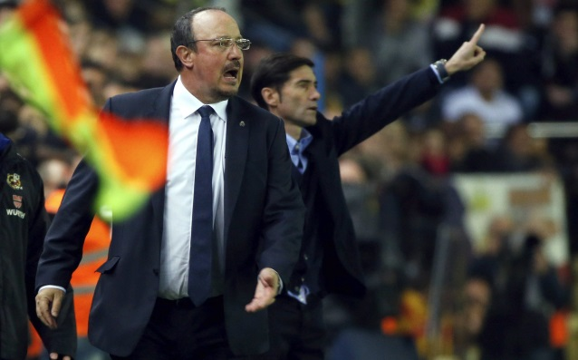 Benitez:' In the the first part we played horribly.'