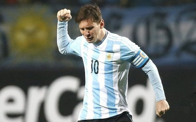 Messi refused to sing the national anthem of Argentina