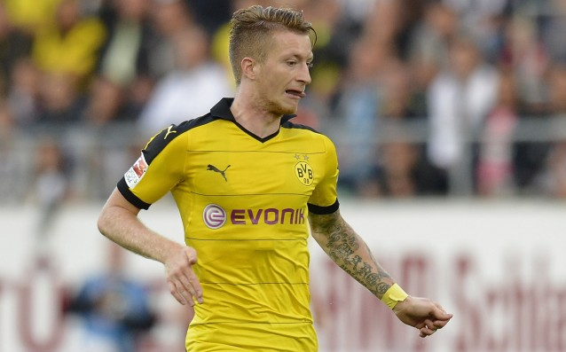 Marco Reus is with a new trauma