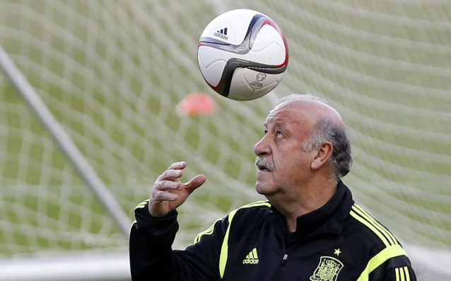 Del Bosque: 'I will quit after the end of Euro 2016.'
