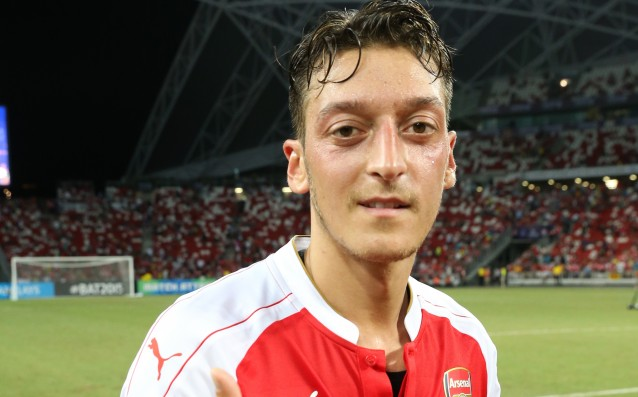 Mesut Ozil is number one in Germany for 2015