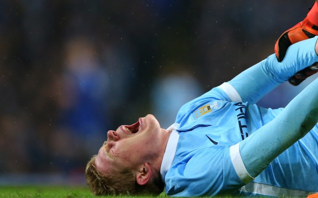 De Bruyne: 'I'm going to be gone for 10 weeks.'