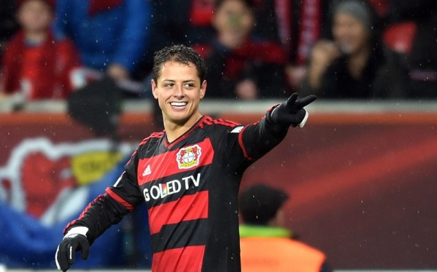 Chicharito is again the best in the Bundesliga