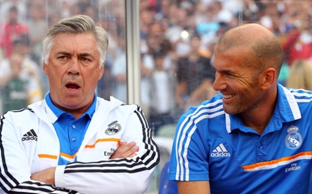 Ancelotti: 'Zidane must remain at the forefront of Real Madrid and in the next season.'
