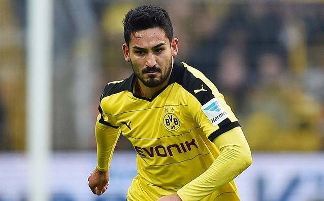 Gundogan is questionable for Liverpool