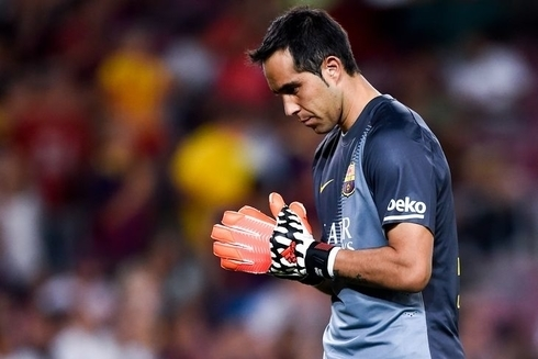 Claudio Bravo wants to leave Barca