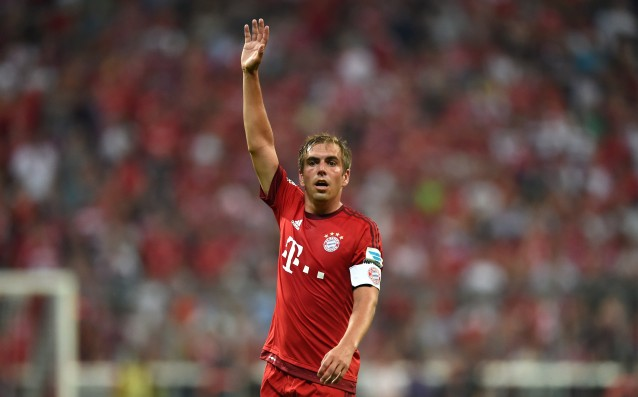 Philipp Lahm is quitting football