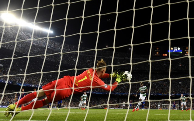 Ter Stegen: 'I needed to save a penalty kick.'