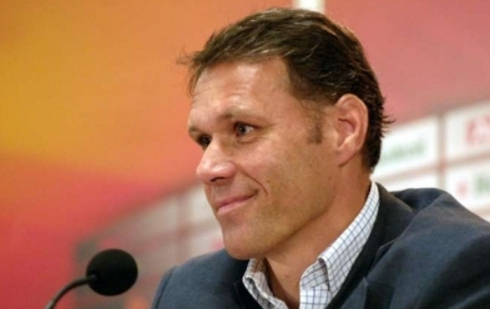 FIFA appointed van Basten as a technical director