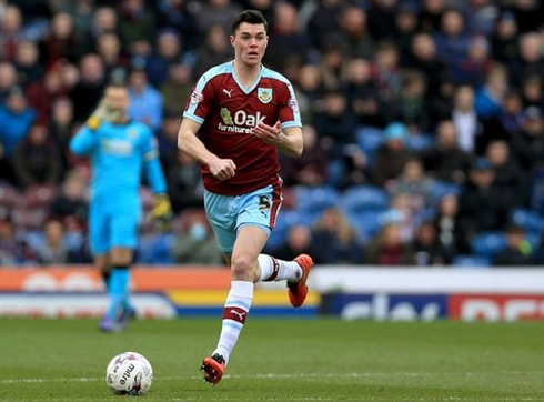 Burnley defender made his debut for the Three lions