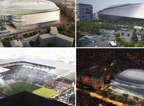 Real Madrid will spend 400 million euros in modernisation of the Bernabeu