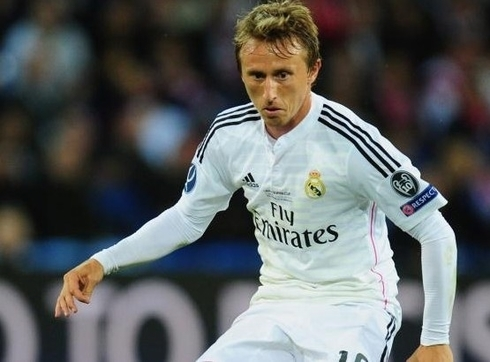 Luka Modric: 'I hope as soon as possible to get back in the game.'