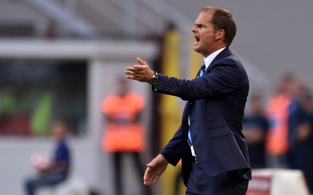 The bosses of Inter with an ultimatum to de Boer
