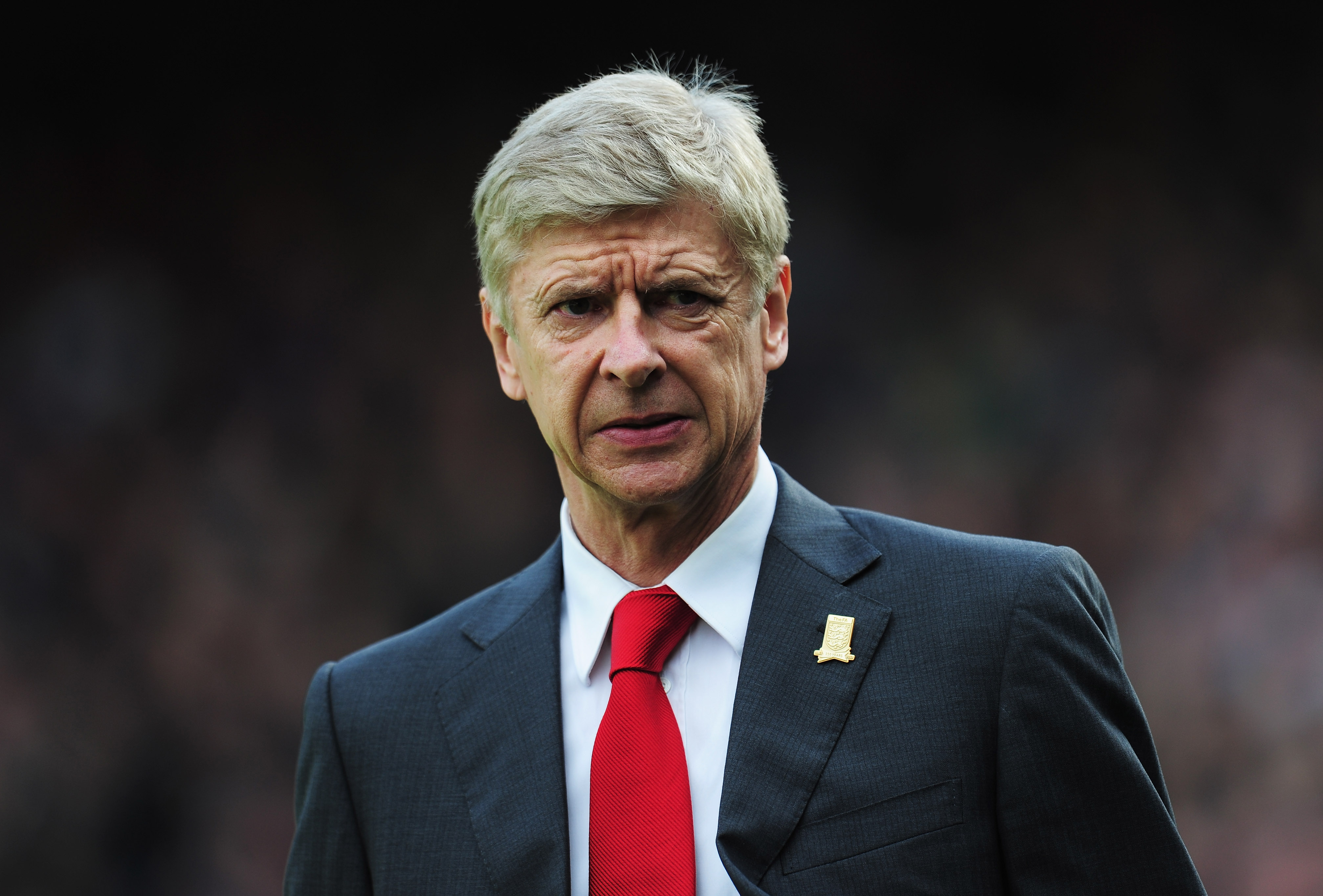 Wenger: 'It wasn't easy, but we could get more.'