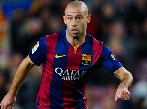 Barca will be without Mascherano for three weeks