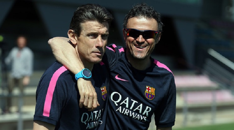Juan Carlos Unzue will replace Luis Enrique?