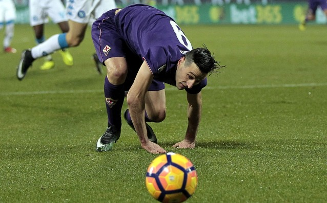 Fiorentina lost Kalinic for two games