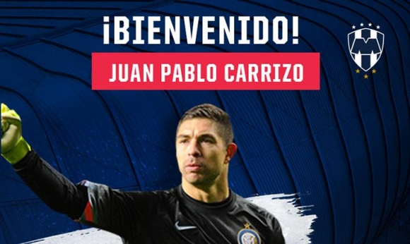 Juan Pablo Carrizo has joined a Mexican club