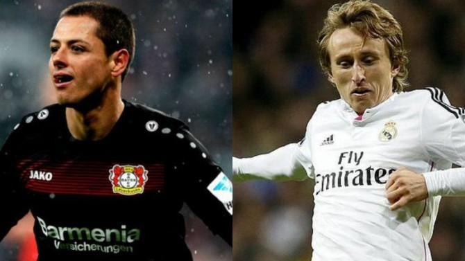 "Chicharito: 'Give the ""Golden Ball"" to Modric, please!'"