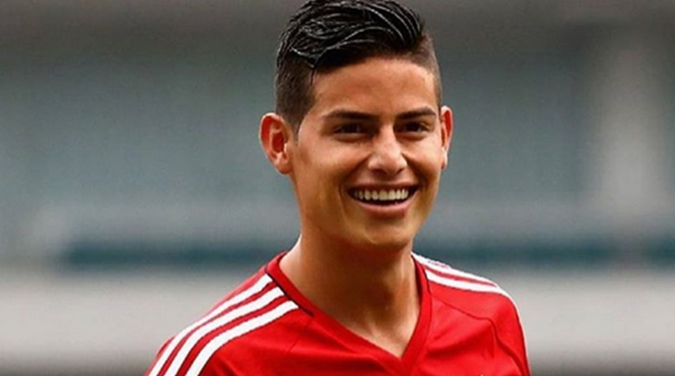 James Rodriguez has praised Bayern Munich