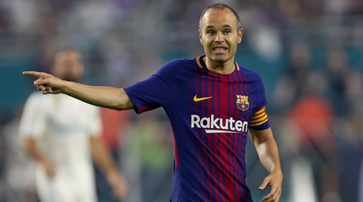 Juventus wants to get Iniesta and Goretzka