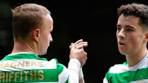 Celtic equalized the British record of 62 consecutive games without losing