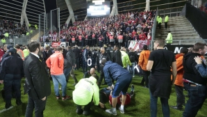 No sanctions for Amiens because of the collapse of the rostrum during the match with Lille