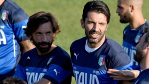 Buffon and Pirlo survived 20 years in a cult game