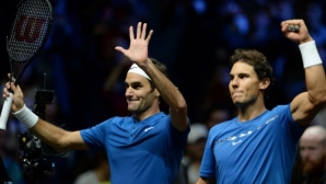 Federer and Nadal are nominated for the best sporting moment of the year