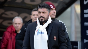 Gattuso confessed and wondered:Shame!  There is no reason for this performance